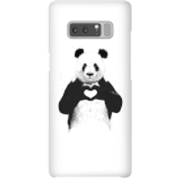 Balazs Solti Panda Love Phone Case for iPhone and Android - Samsung Note 8 - Snap Case - Gloss - Love Gifts