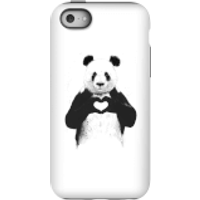 Balazs Solti Panda Love Phone Case for iPhone and Android - iPhone 5C - Tough Case - Gloss