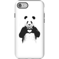 Balazs Solti Panda Love Phone Case for iPhone and Android - iPhone 7 - Tough Case - Gloss - Love Gifts