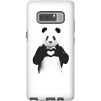 Balazs Solti Panda Love Phone Case for iPhone and Android - Samsung Note 8 - Tough Case - Gloss - Love Gifts