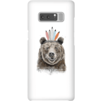 Balazs Solti Native Bear Phone Case for iPhone and Android - Samsung Note 8 - Snap Case - Matte