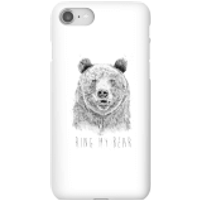 Balazs Solti Ring My Bear Phone Case for iPhone and Android - iPhone 8 - Snap Case - Gloss - Ring Gifts