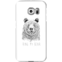 Balazs Solti Ring My Bear Phone Case for iPhone and Android - Samsung S6 Edge Plus - Snap Case - Gloss - Ring Gifts