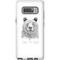 Balazs Solti Ring My Bear Phone Case for iPhone and Android - Samsung Note 8 - Tough Case - Gloss - Ring Gifts