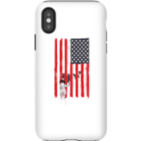 Balazs Solti USA Cage Phone Case for iPhone and Android - iPhone X - Tough Case - Matte