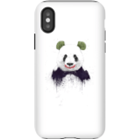 Balazs Solti Joker Panda Phone Case for iPhone and Android - iPhone X - Tough Case - Matte - Panda Gifts