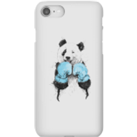 Balazs Solti Boxing Panda Phone Case for iPhone and Android - iPhone 8 - Snap Case - Matte