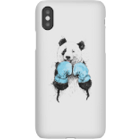 Boxing Panda Phone Case for iPhone and Android - iPhone X - Snap Case - Matte - Boxing Gifts