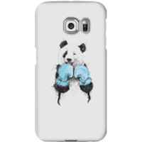 Boxing Panda Phone Case for iPhone and Android - Samsung S6 Edge - Snap Case - Matte - Boxing Gifts