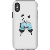 Balazs Solti Boxing Panda Phone Case for iPhone and Android - iPhone X - Tough Case - Gloss - Boxing Gifts