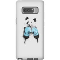Balazs Solti Boxing Panda Phone Case for iPhone and Android - Samsung Note 8 - Tough Case - Gloss - Boxing Gifts