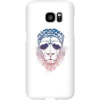 Balazs Solti Bandana Lion Phone Case for iPhone and Android - Samsung S7 Edge - Snap Case - Matte