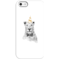 Party Lion Phone Case for iPhone and Android - iPhone 5/5s - Snap Case - Gloss - Party Gifts