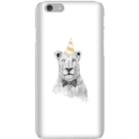 Party Lion Phone Case for iPhone and Android - iPhone 6 - Snap Case - Gloss - Party Gifts