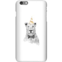 Party Lion Phone Case for iPhone and Android - iPhone 6 Plus - Snap Case - Gloss - Party Gifts