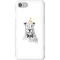 Party Lion Phone Case for iPhone and Android - iPhone 7 - Snap Case - Gloss - Party Gifts