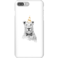Party Lion Phone Case for iPhone and Android - iPhone 7 Plus - Snap Case - Gloss - Party Gifts