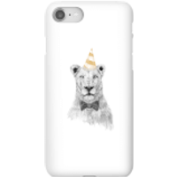 Party Lion Phone Case for iPhone and Android - iPhone 8 - Snap Case - Gloss - Party Gifts