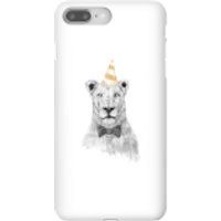 Party Lion Phone Case for iPhone and Android - iPhone 8 Plus - Snap Case - Gloss - Party Gifts