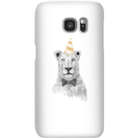 Party Lion Phone Case for iPhone and Android - Samsung S7 - Snap Case - Gloss - Party Gifts