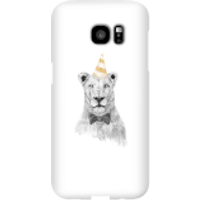 Party Lion Phone Case for iPhone and Android - Samsung S7 Edge - Snap Case - Gloss - Party Gifts