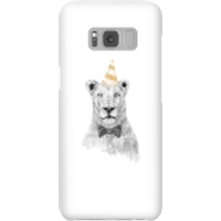 Party Lion Phone Case for iPhone and Android - Samsung S8 - Snap Case - Gloss - Party Gifts
