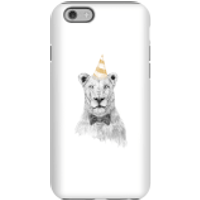 Party Lion Phone Case for iPhone and Android - iPhone 6 - Tough Case - Gloss - Party Gifts