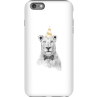 Party Lion Phone Case for iPhone and Android - iPhone 6 Plus - Tough Case - Gloss - Party Gifts