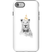Party Lion Phone Case for iPhone and Android - iPhone 7 - Tough Case - Gloss - Party Gifts