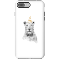 Party Lion Phone Case for iPhone and Android - iPhone 7 Plus - Tough Case - Gloss - Party Gifts
