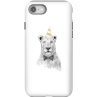 Party Lion Phone Case for iPhone and Android - iPhone 8 - Tough Case - Gloss - Party Gifts