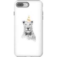 Party Lion Phone Case for iPhone and Android - iPhone 8 Plus - Tough Case - Gloss - Party Gifts