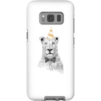 Party Lion Phone Case for iPhone and Android - Samsung S8 - Tough Case - Gloss - Party Gifts
