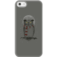 Balazs Solti Owl And Moon Phone Case for iPhone and Android - iPhone 5/5s - Snap Case - Matte - Owl Gifts