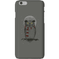 Balazs Solti Owl And Moon Phone Case for iPhone and Android - iPhone 6 - Snap Case - Matte - Owl Gifts