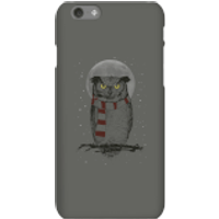 Balazs Solti Owl And Moon Phone Case for iPhone and Android - iPhone 6S - Snap Case - Matte - Owl Gifts
