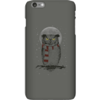 Balazs Solti Owl And Moon Phone Case for iPhone and Android - iPhone 6 Plus - Snap Case - Matte