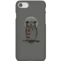 Balazs Solti Owl And Moon Phone Case for iPhone and Android - iPhone 8 - Snap Case - Matte - Owl Gifts
