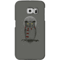 Balazs Solti Owl And Moon Phone Case for iPhone and Android - Samsung S6 Edge - Snap Case - Matte - Owl Gifts