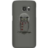Balazs Solti Owl And Moon Phone Case for iPhone and Android - Samsung S7 - Snap Case - Matte - Owl Gifts