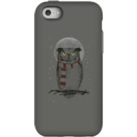Balazs Solti Owl And Moon Phone Case for iPhone and Android - iPhone 5C - Tough Case - Matte - Owl Gifts