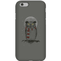 Balazs Solti Owl And Moon Phone Case for iPhone and Android - iPhone 6S - Tough Case - Matte