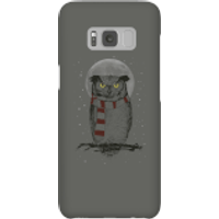 Balazs Solti Owl And Moon Phone Case for iPhone and Android - Samsung S8 - Snap Case - Gloss - Owl Gifts