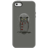 Balazs Solti Owl And Moon Phone Case for iPhone and Android - iPhone 5/5s - Tough Case - Gloss