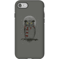 Balazs Solti Owl And Moon Phone Case for iPhone and Android - iPhone 7 - Tough Case - Gloss