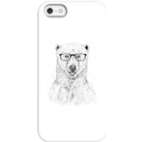 Balazs Solti Polar Bear And Glasses Phone Case for iPhone and Android - iPhone 5/5s - Snap Case - Matte - Polar Bear Gifts