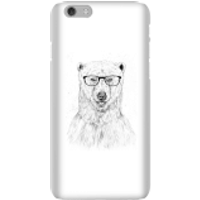 Balazs Solti Polar Bear And Glasses Phone Case for iPhone and Android - iPhone 6 - Snap Case - Matte