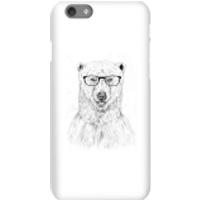 Balazs Solti Polar Bear And Glasses Phone Case for iPhone and Android - iPhone 6S - Snap Case - Matte - Polar Bear Gifts