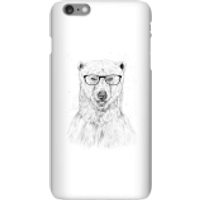 Balazs Solti Polar Bear And Glasses Phone Case for iPhone and Android - iPhone 6 Plus - Snap Case - Matte - Polar Bear Gifts