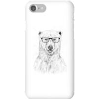 Balazs Solti Polar Bear And Glasses Phone Case for iPhone and Android - iPhone 7 - Snap Case - Gloss